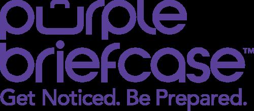 Purple Briefcase logo