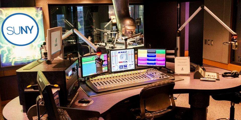 SUNY Radio Studio