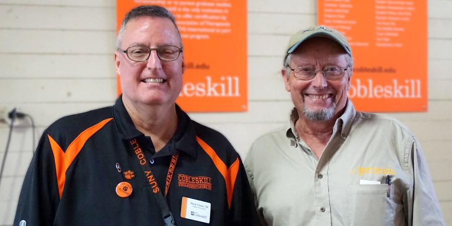 Mark Finney and Richard Ball