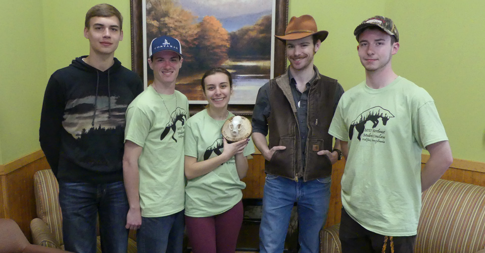 The SUNY Cobleskill student chapter of The Wildlife Society