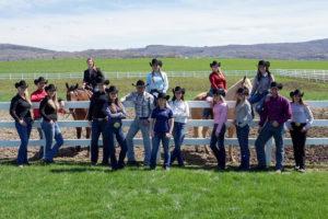 The SUNY Cobleskill Western Equestrian Team