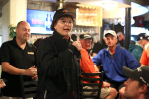 SUNY Cobleskill President Marion Terenzio at the 31st Annual SUNY Cobleskill Foundation Golf Tournament