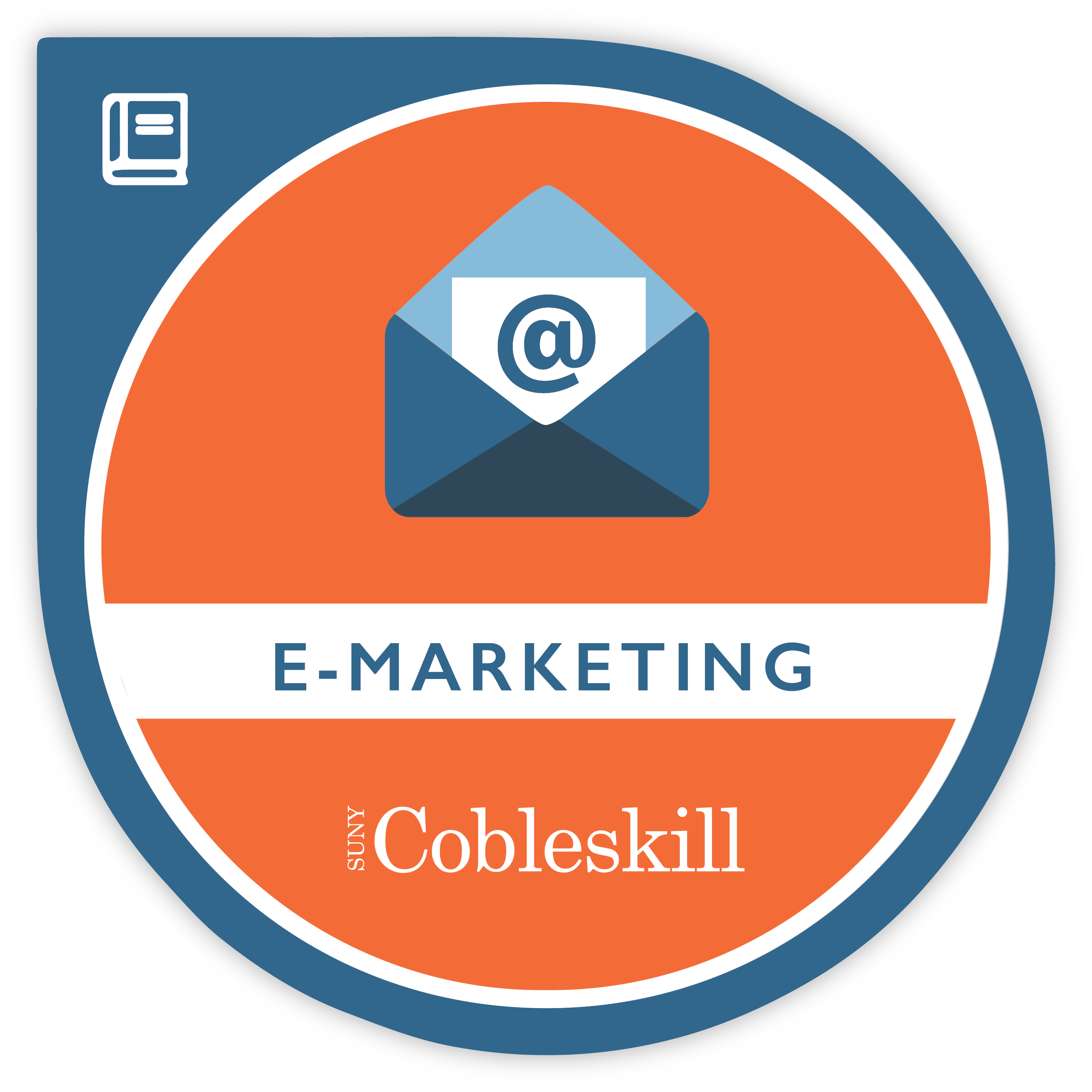 e-marketing badge