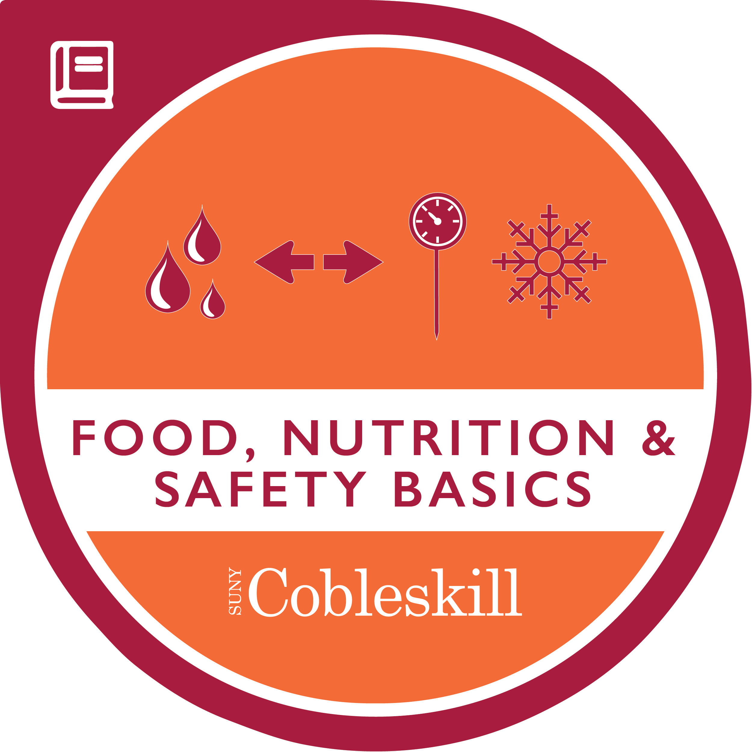 Food, Nutrition and Safety Basics Micro-Credential Badge